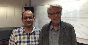 Mehdi Hosseini and Georges Aperghis (2014)