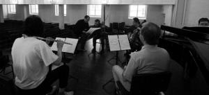 Rehearsal with Moscow Contemporary Music Ensemble